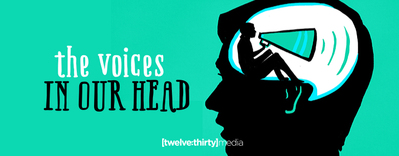 THE VOICES IN OUR HEAD banner